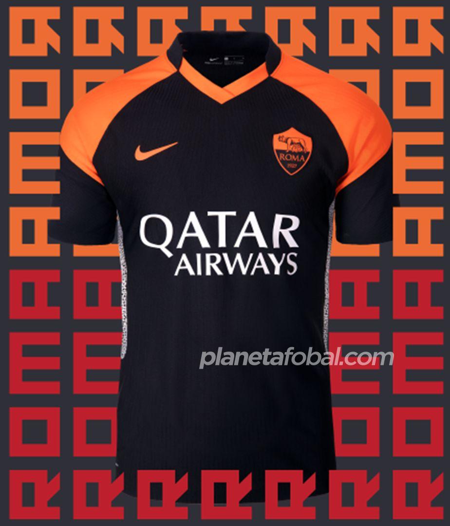 Tercera camiseta de la Roma 2020/2021 | Imagen Nike