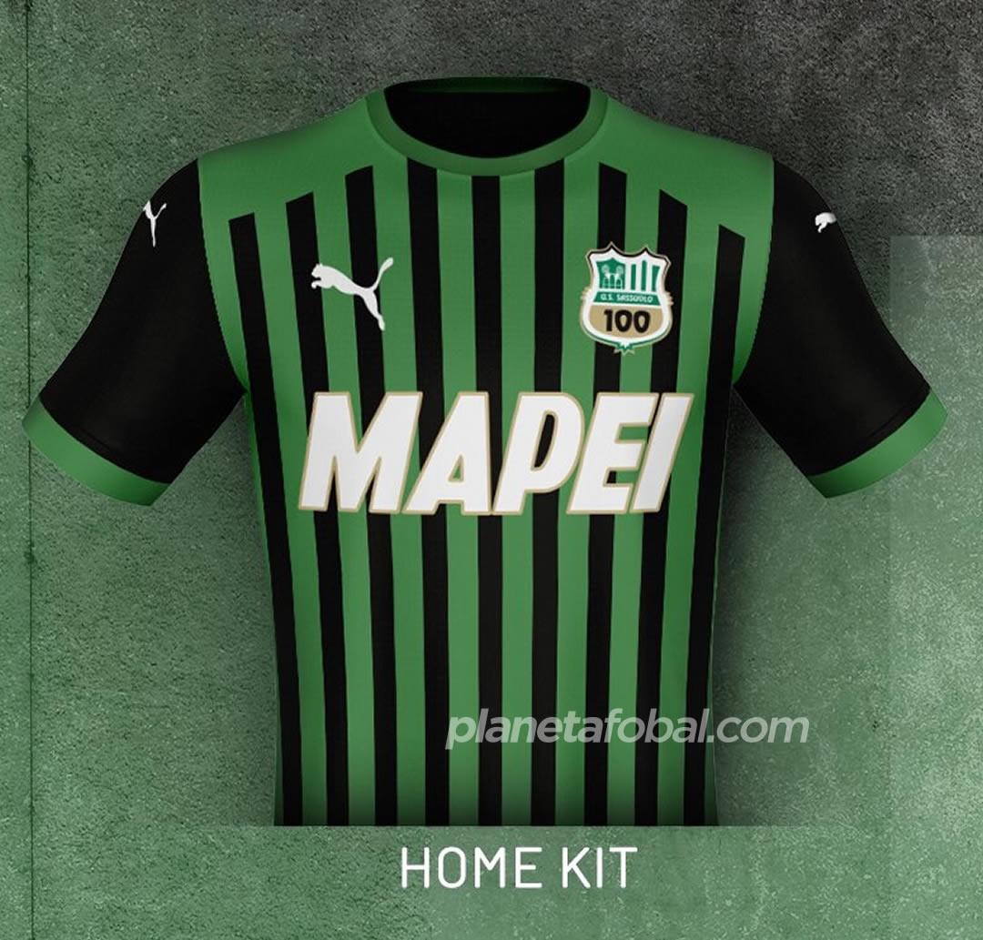 Camisetas Puma del Sassuolo 2020/21 | Imagen Web Oficial