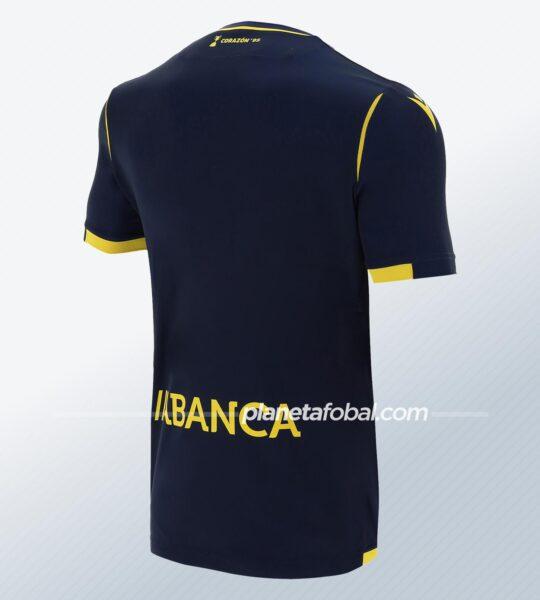 Camiseta suplente del Deportivo La Coruña 2020/21 | Imagen Macron