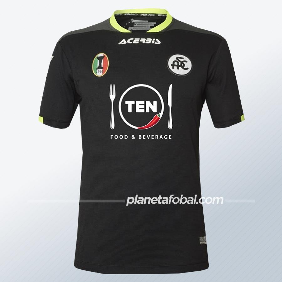 Camisetas Acerbis del Spezia Calcio 2020/21 | Imagen Web Oficial