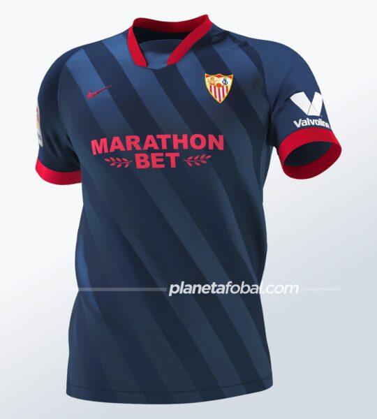 Tercera equipación Nike del Sevilla 2020/2021 | Imagen Web Oficial