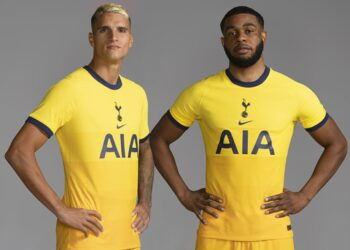 Tercera camiseta del Tottenham 2020/2021 | Imagen Nike
