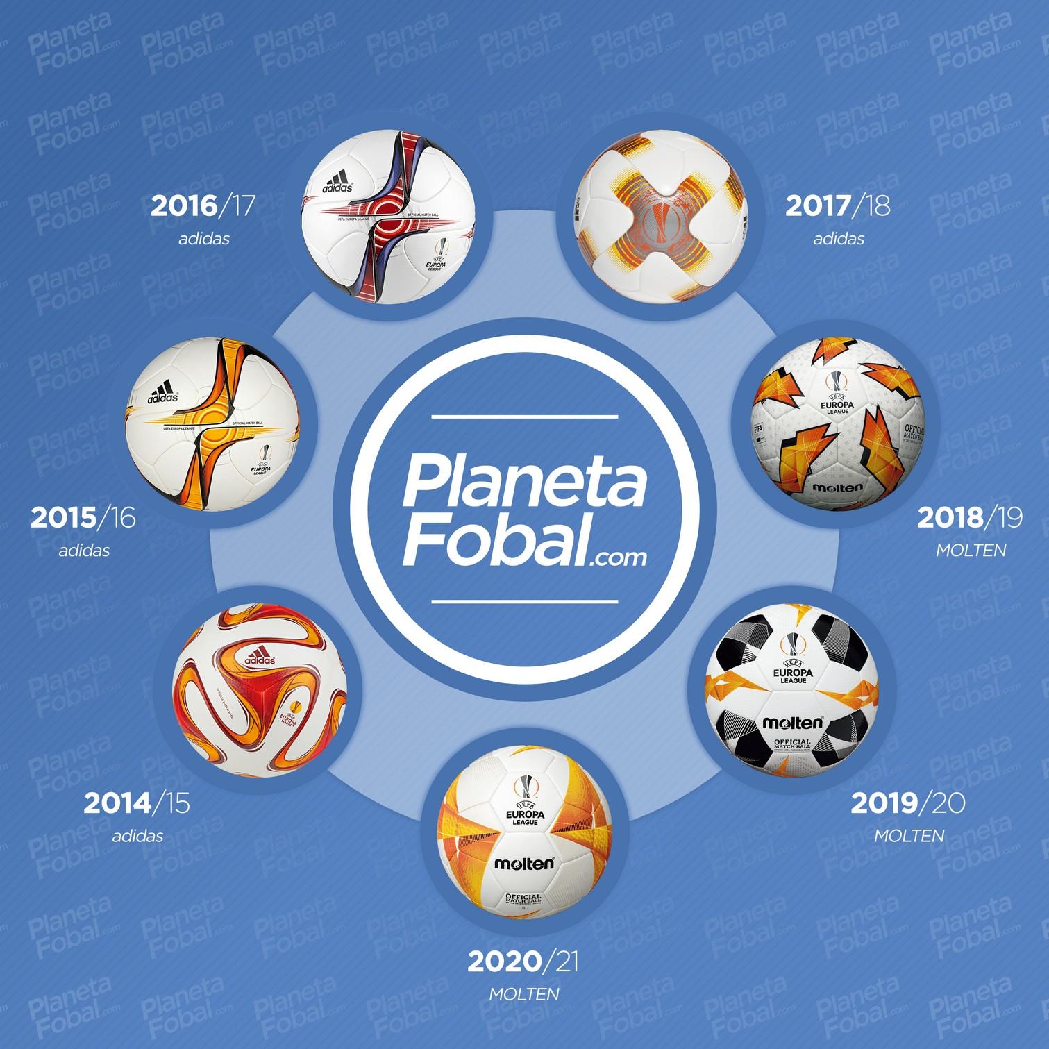 Los últimos balones de la Europa League