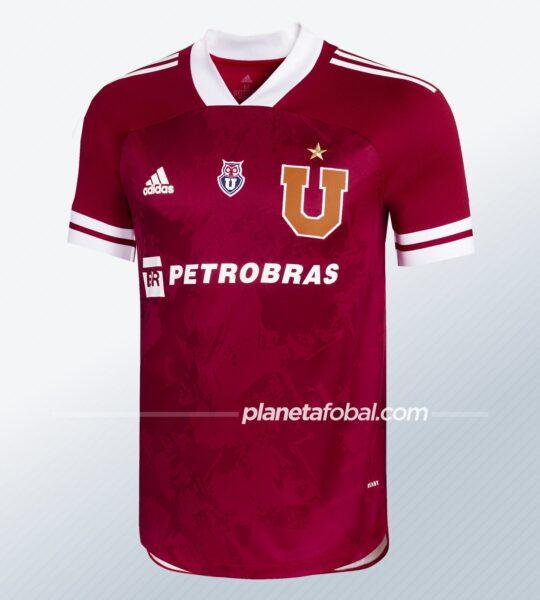 Tercera camiseta adidas de la Universidad de Chile 2020/21 | Imagen Web Oficial