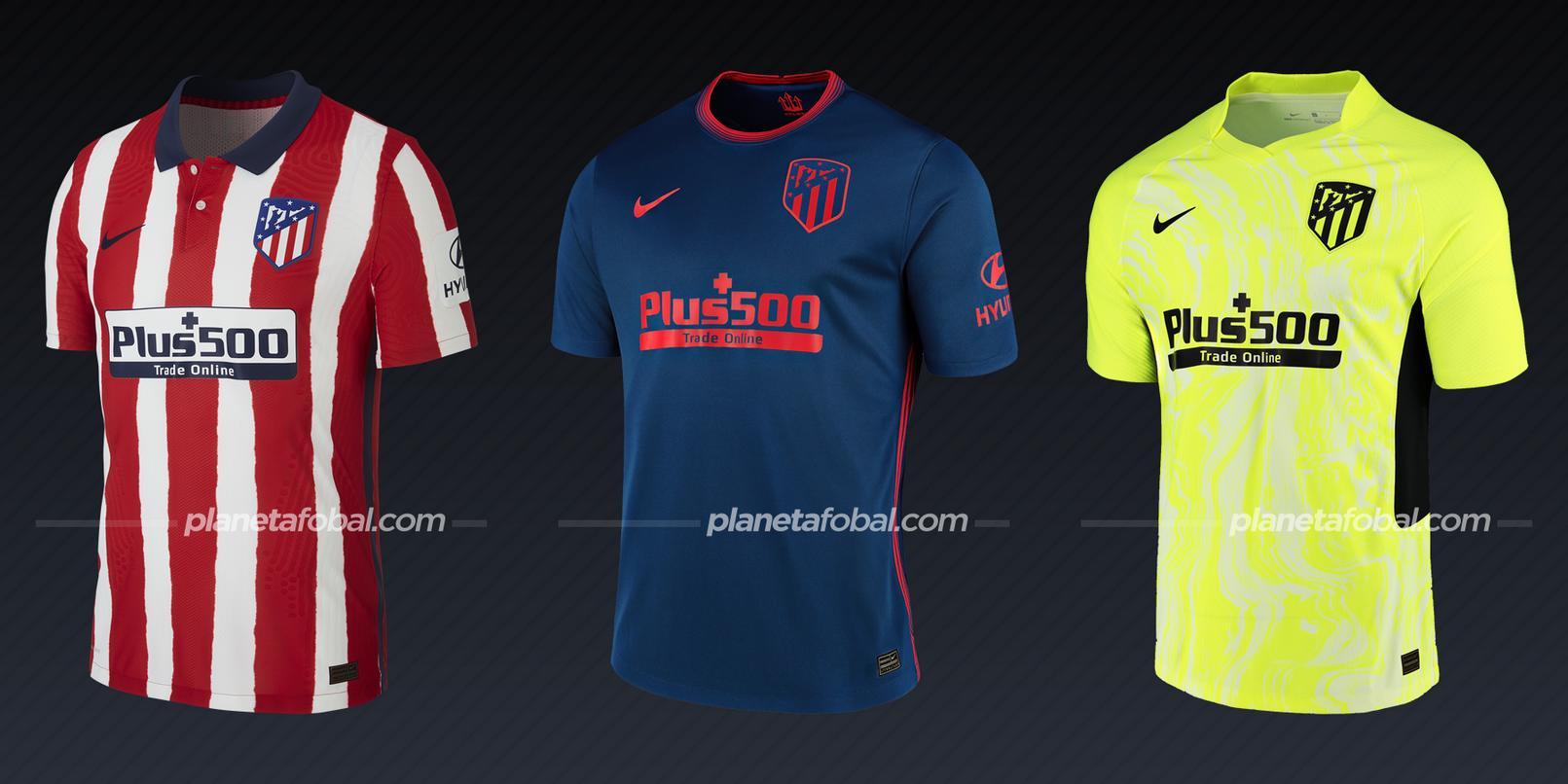 Atlético de Madrid (Nike) | Camisetas de la Champions League 2020/2021