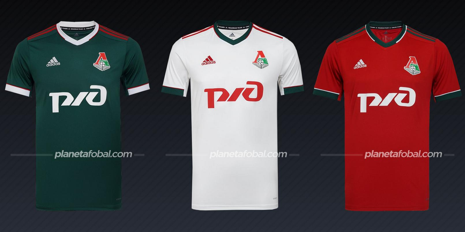 Lokomotiv Moscu (adidas) | Camisetas de la Champions League 2020/2021