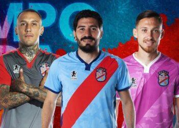 Camisetas Sport Lyon de Arsenal de Sarandí 2020/21 | Imagen Twitter Oficial