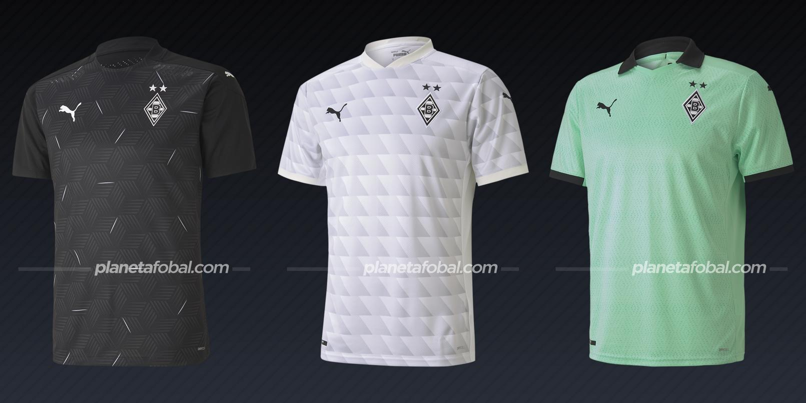Borussia Mönchengladbach (PUMA) | Camisetas de la Champions League 2020/2021