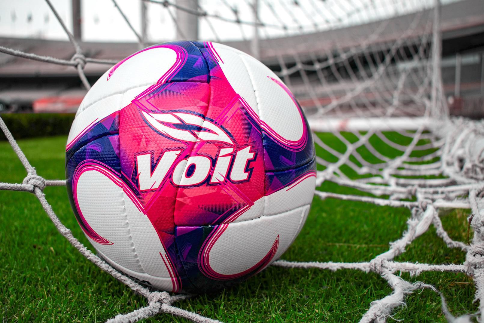 "Balón ""Octubre Rosa"" 2020 Liga MX | Imagen Voit"