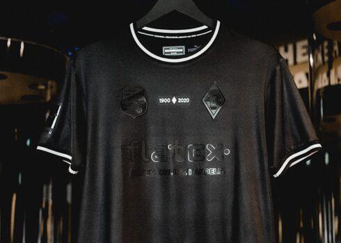 """Camiseta Puma del Borussia Mönchengladbach """"120 Aniversario""""   Imagen Web Oficial"""