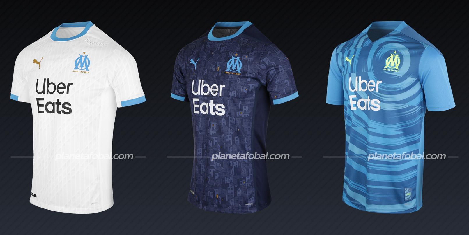 Olympique Marsella (PUMA) | Camisetas de la Champions League 2020/2021