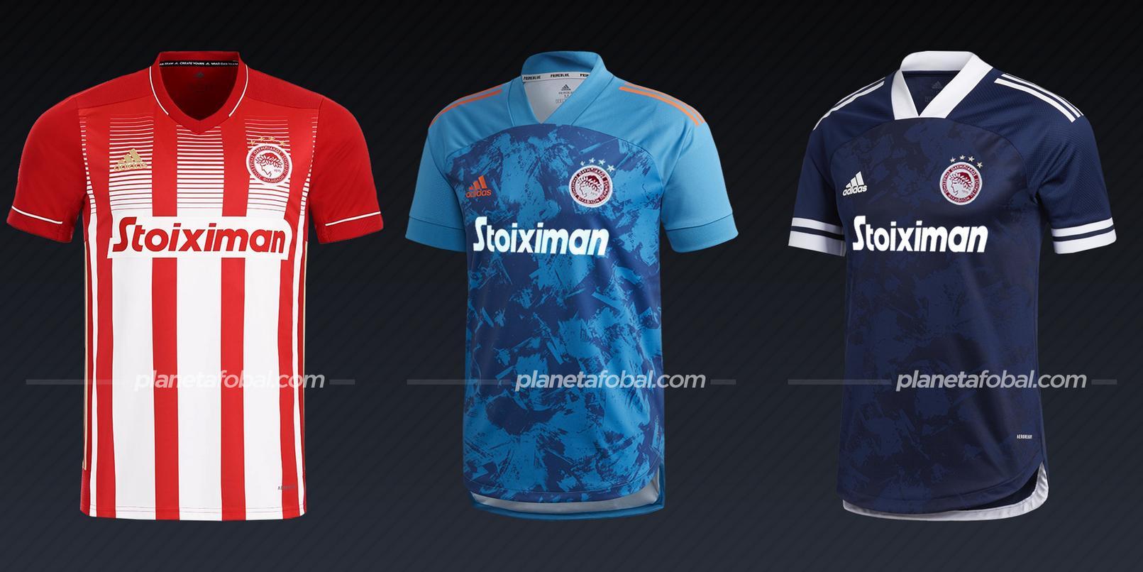 Olympiacos (adidas) | Camisetas de la Champions League 2020/2021