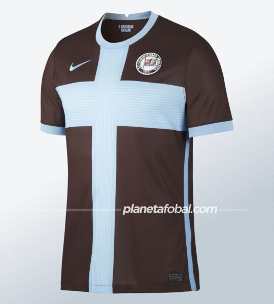 Tercera camiseta del Corinthians 2020/2021 | Imagen Nike