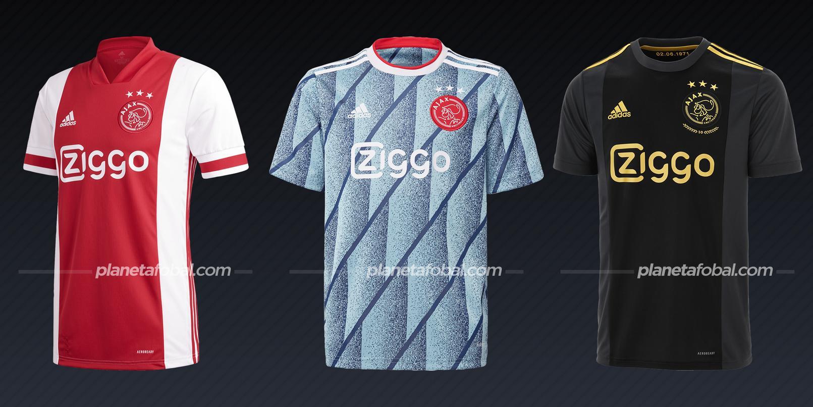 Ajax (adidas) | Camisetas de la Champions League 2020/2021