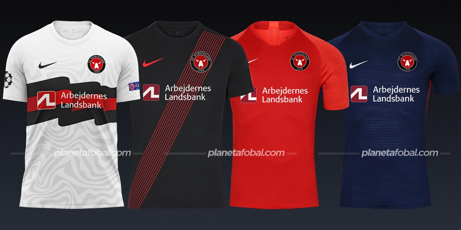 FC Midtjylland (Nike) | Camisetas de la Champions League 2020/2021