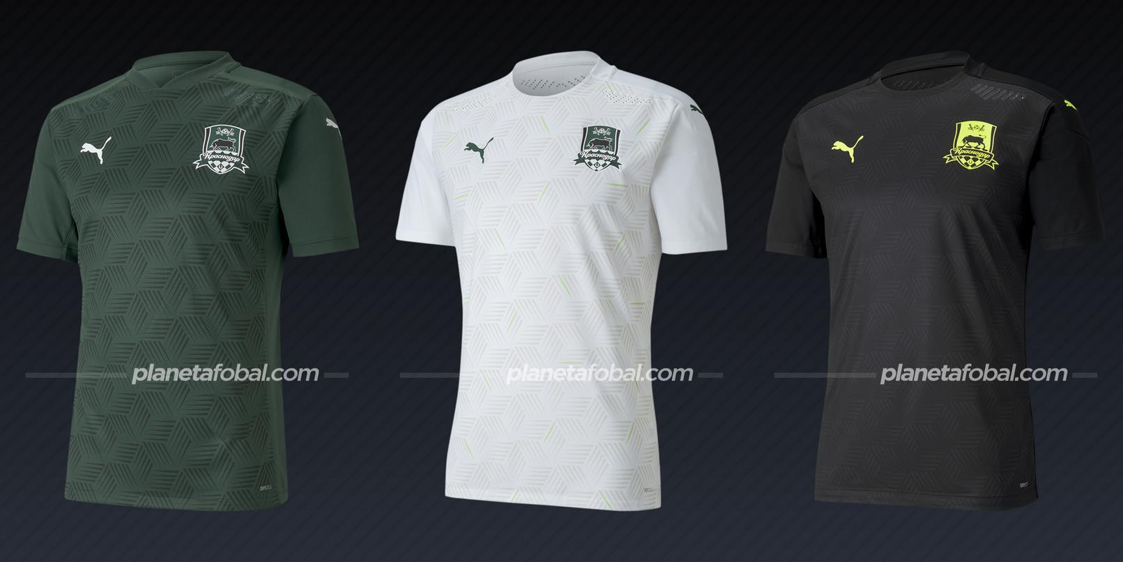 Krasnodar (PUMA) | Camisetas de la Champions League 2020/2021
