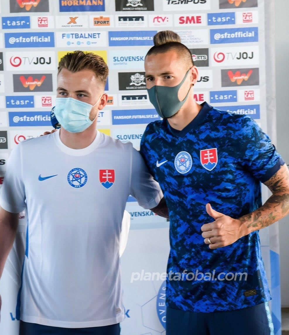 Maillots Slovaquie 2020/21 | Image SFZ