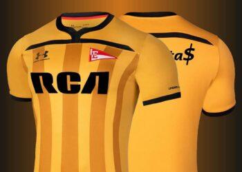 Tercera camiseta Under Armour de Estudiantes LP 2020/21 | Imagen Twitter Oficial