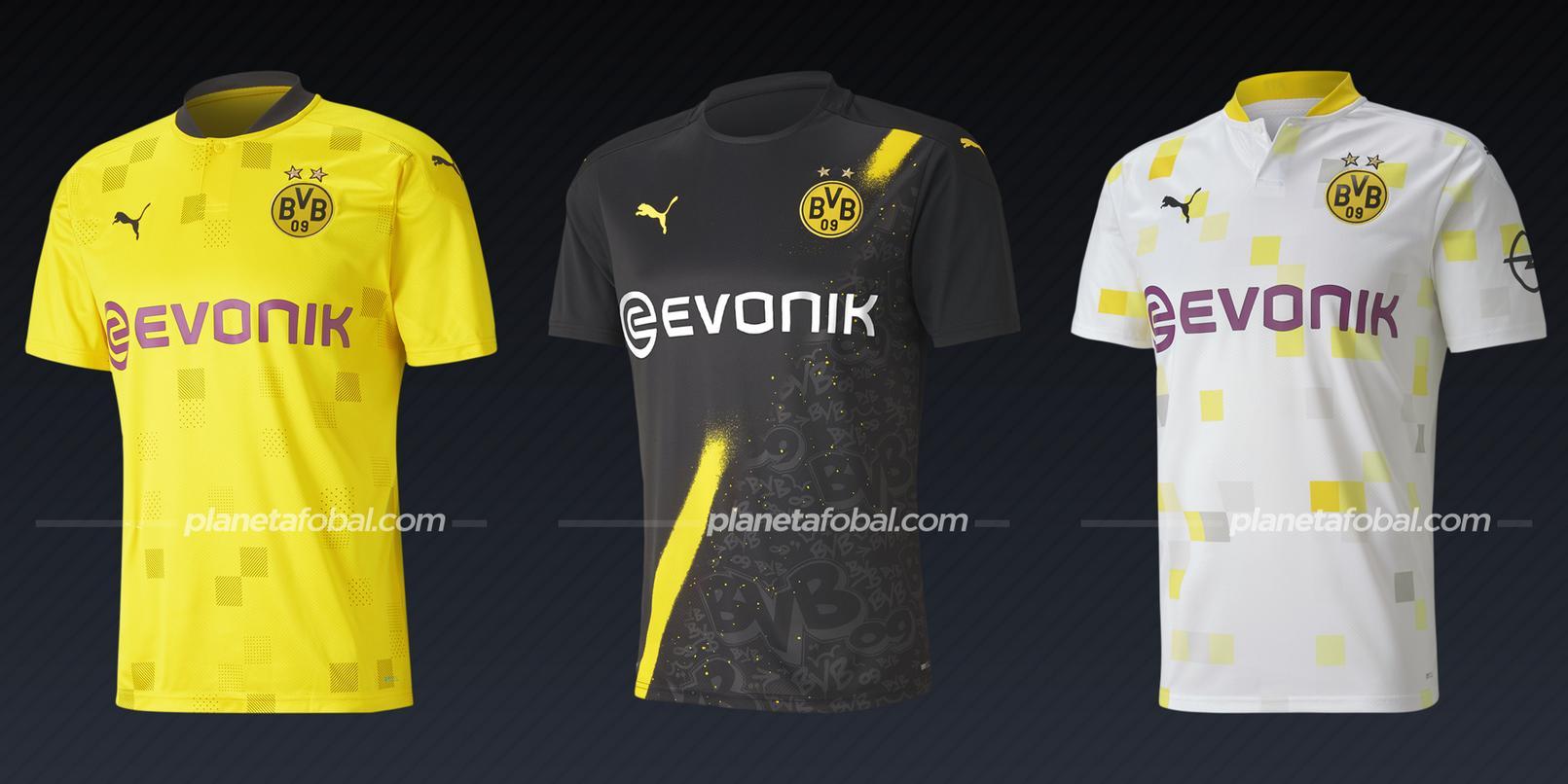 Borussia Dortmund (PUMA) | Camisetas de la Champions League 2020/2021