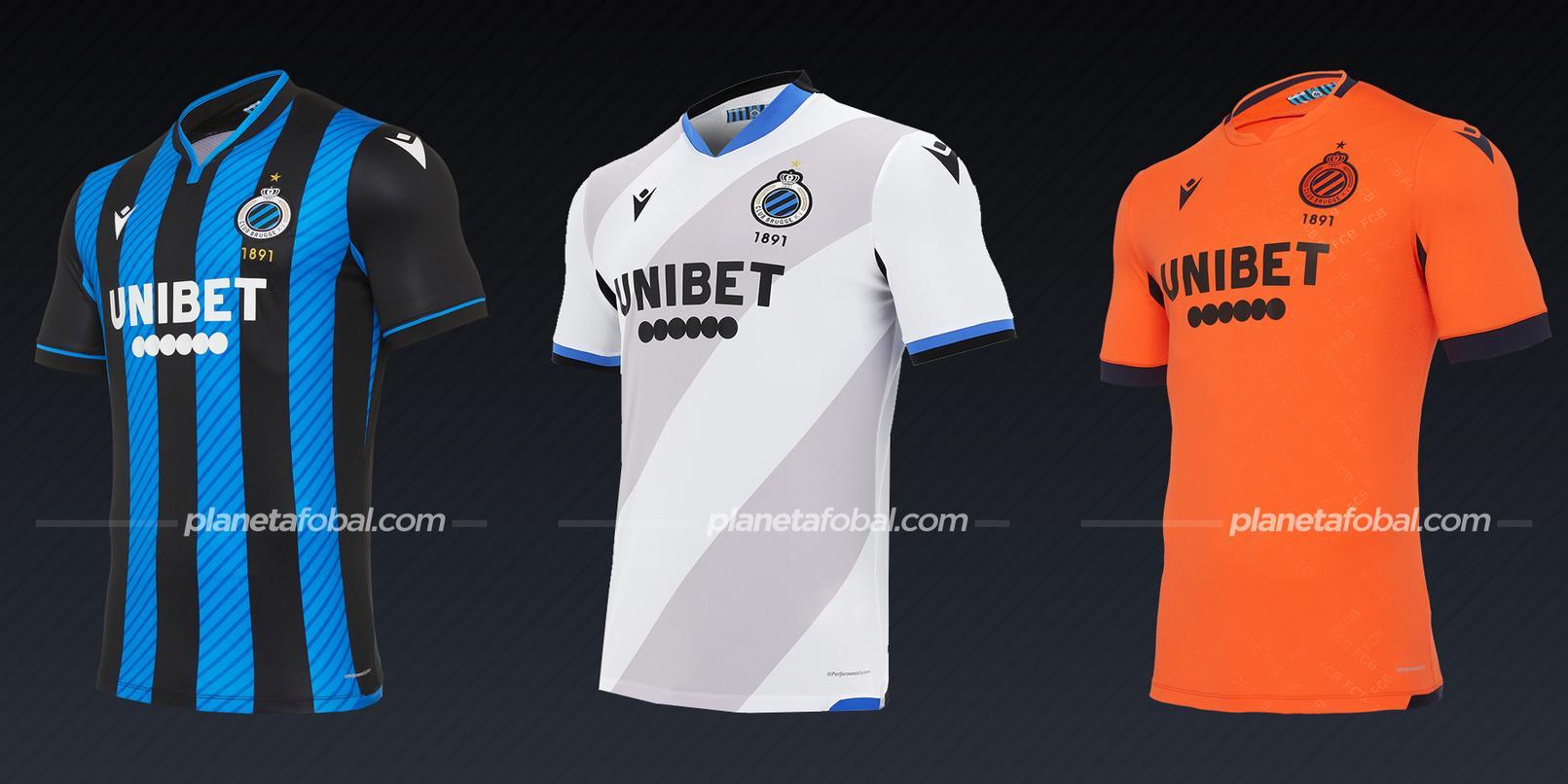 Club Brugge (Macron) | Camisetas de la Champions League 2020/2021