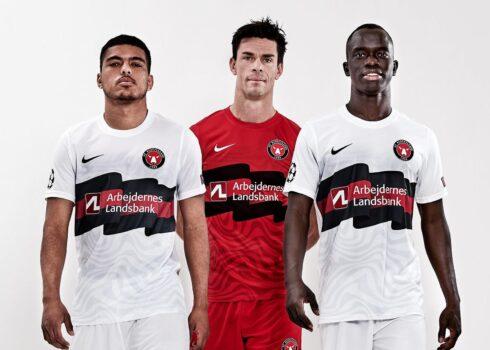 Camiseta Nike del FC Midtjylland UCL 2020/21 | Imagen Web Oficial