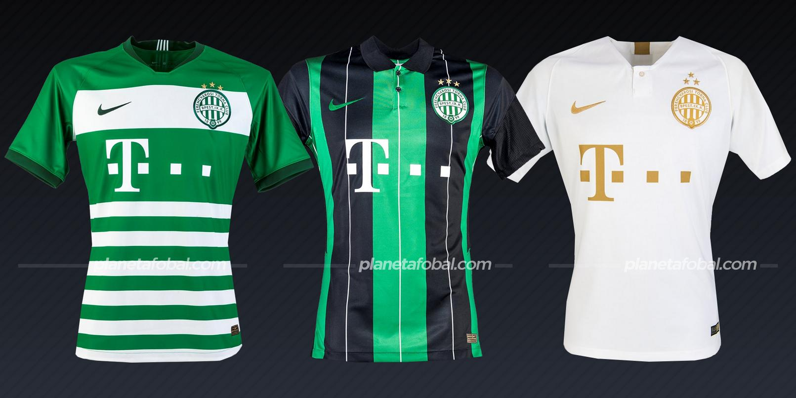 Ferencvçaros (Nike) | Camisetas de la Champions League 2020/2021