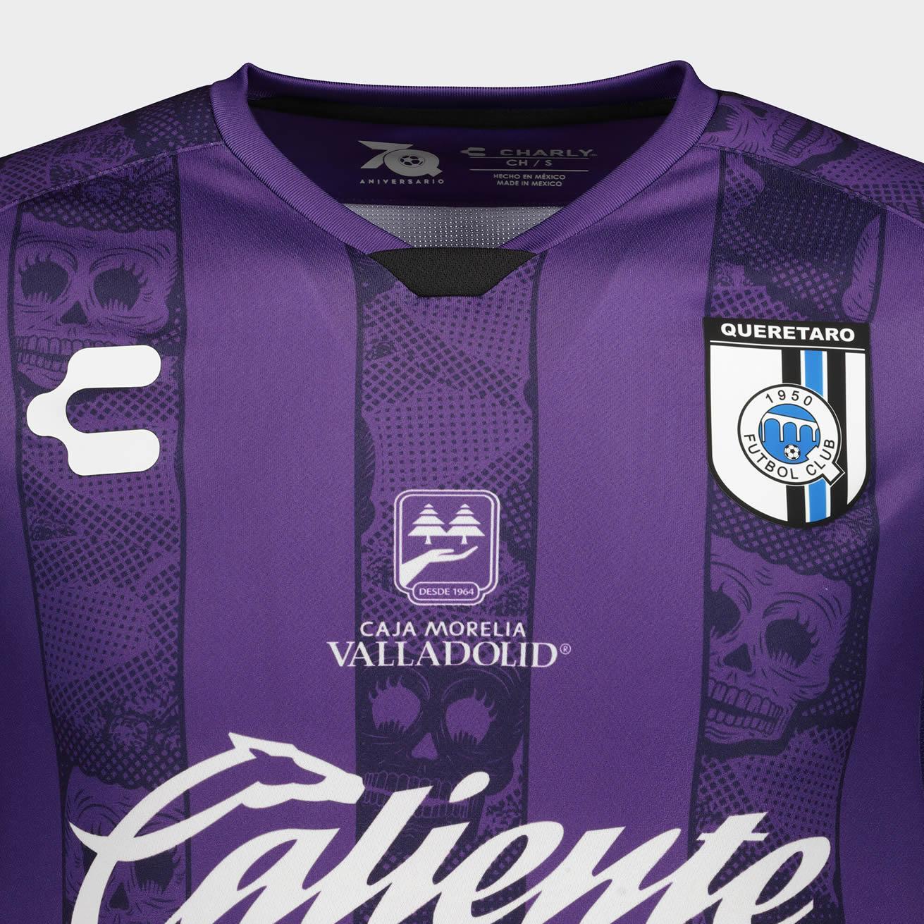 Tercera camiseta del Querétaro 2020/21   Imagen Charly