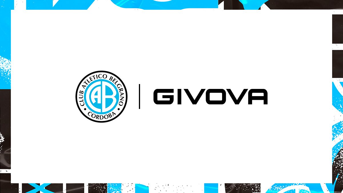 Belgrano de Córdoba anuncia contrato con Givova | Imagen Twitter Oficial