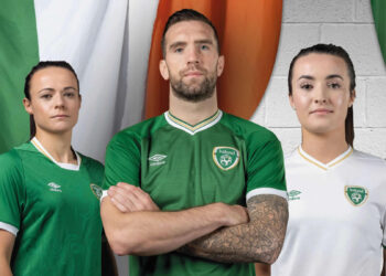 Camisetas Umbro de Irlanda 2020/21 | Imagen FAI