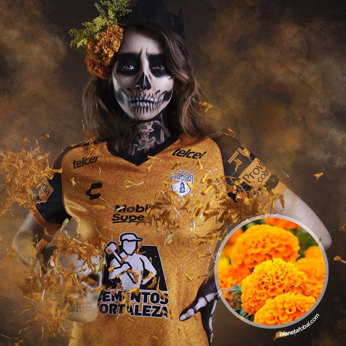 Tercera camiseta Charly del Pachuca 2020/21   Imagen Instagram Oficial
