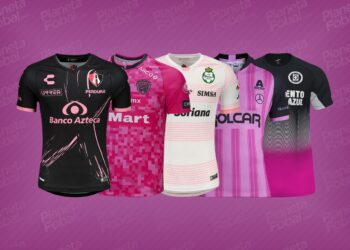 Jerseys Octubre Rosa 2020 Liga mexicana