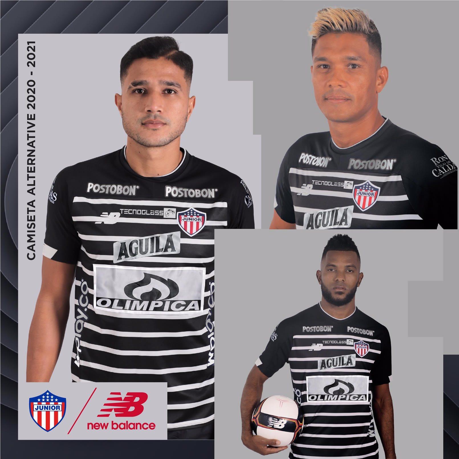 Tercera camiseta New Balance del Junior 2020/21 | Imagen Twitter Oficial