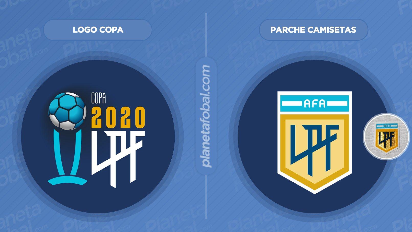 Logo y parche oficial de la Copa Liga Profesional 2020 | Imágenes LPF