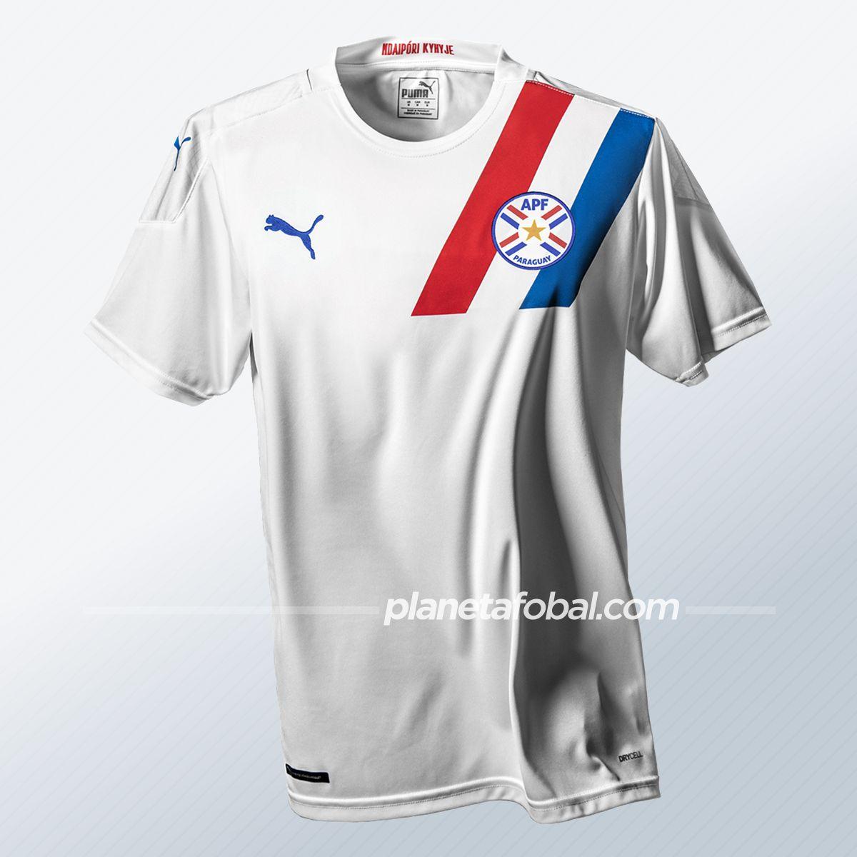 Maillot substitut Paraguay 2020/2021 | Image PUMA