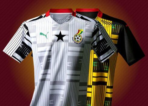Camisetas de Ghana 2020/2021 | Imagen PUMA