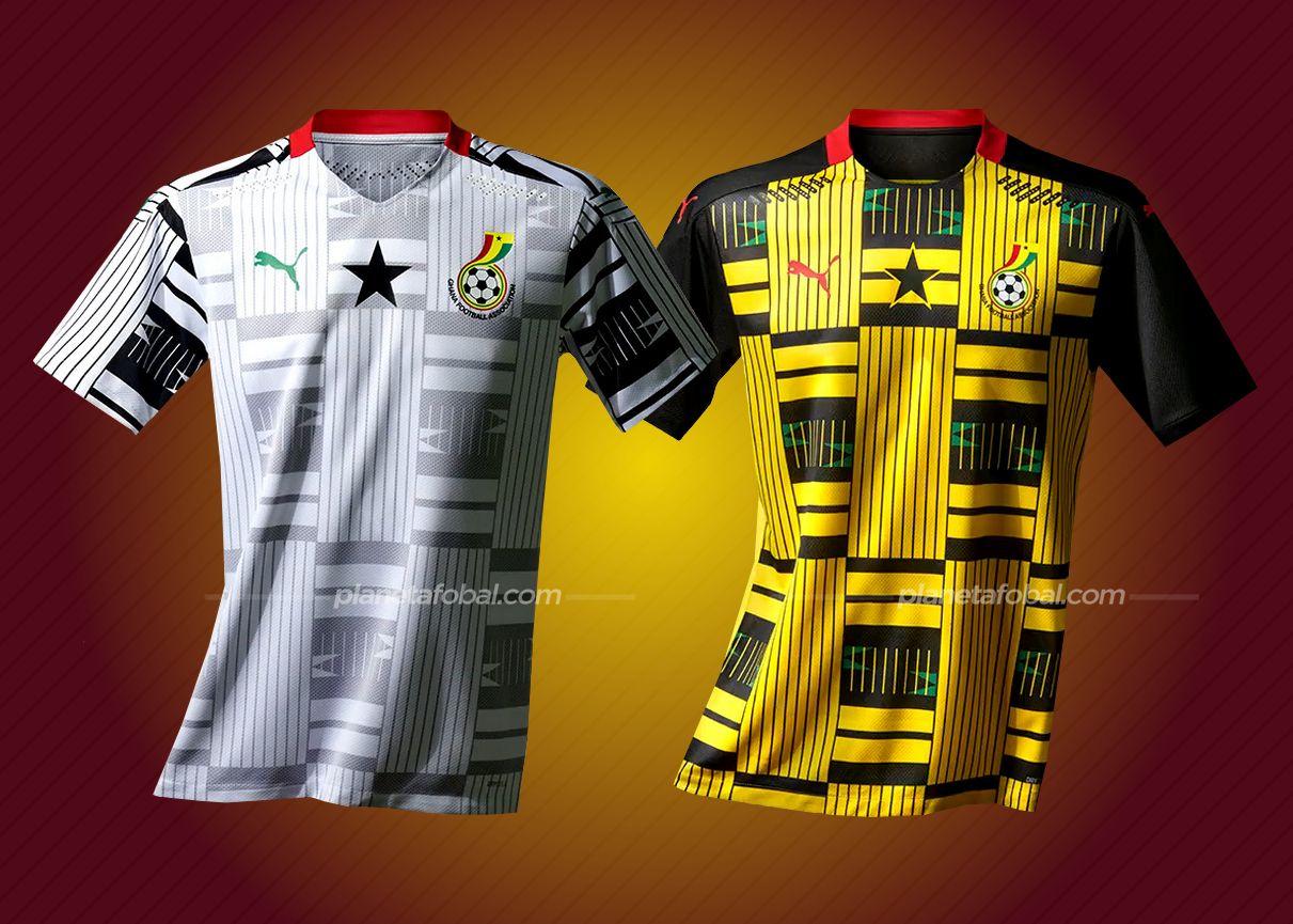 Equipaciones de Ghana 2020/2021 | Imágenes PUMA