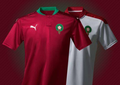 Camisetas de Marruecos 2020/2021 | Imagen PUMA
