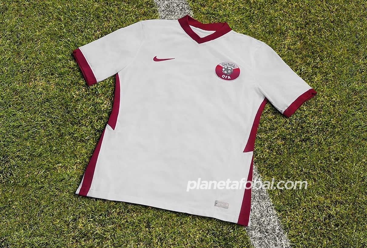 Camisetas Nike de Catar 2020/2021 | Imagen QFA