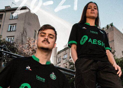 Tercera camiseta le coq sportif del Saint-Étienne 2020/21 | Imagen Web Oficial