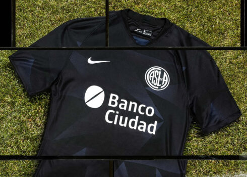Tercera camiseta Nike de San Lorenzo 2020/2021 | Imagen Web Oficial