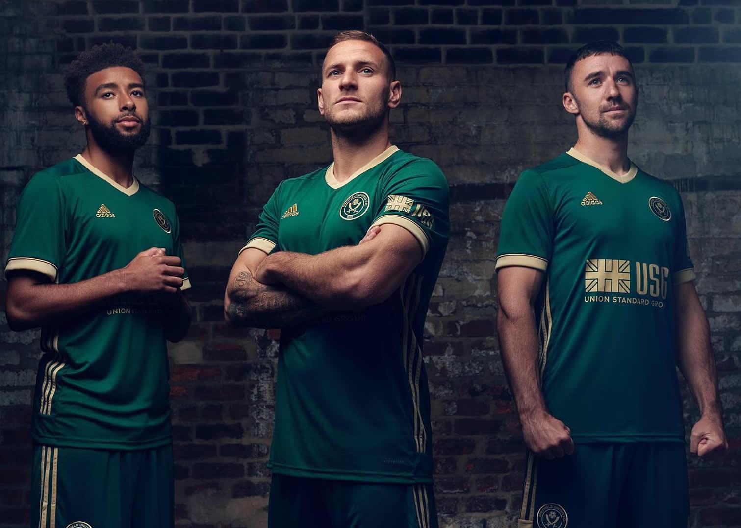 Tercera camiseta adidas del Sheffield United 2020/21 | Imagen Web Oficial