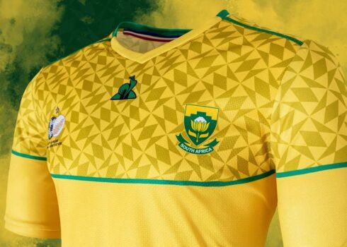 Camisetas de Sudáfrica 2020/2021   Imagen Le Coq Sportif