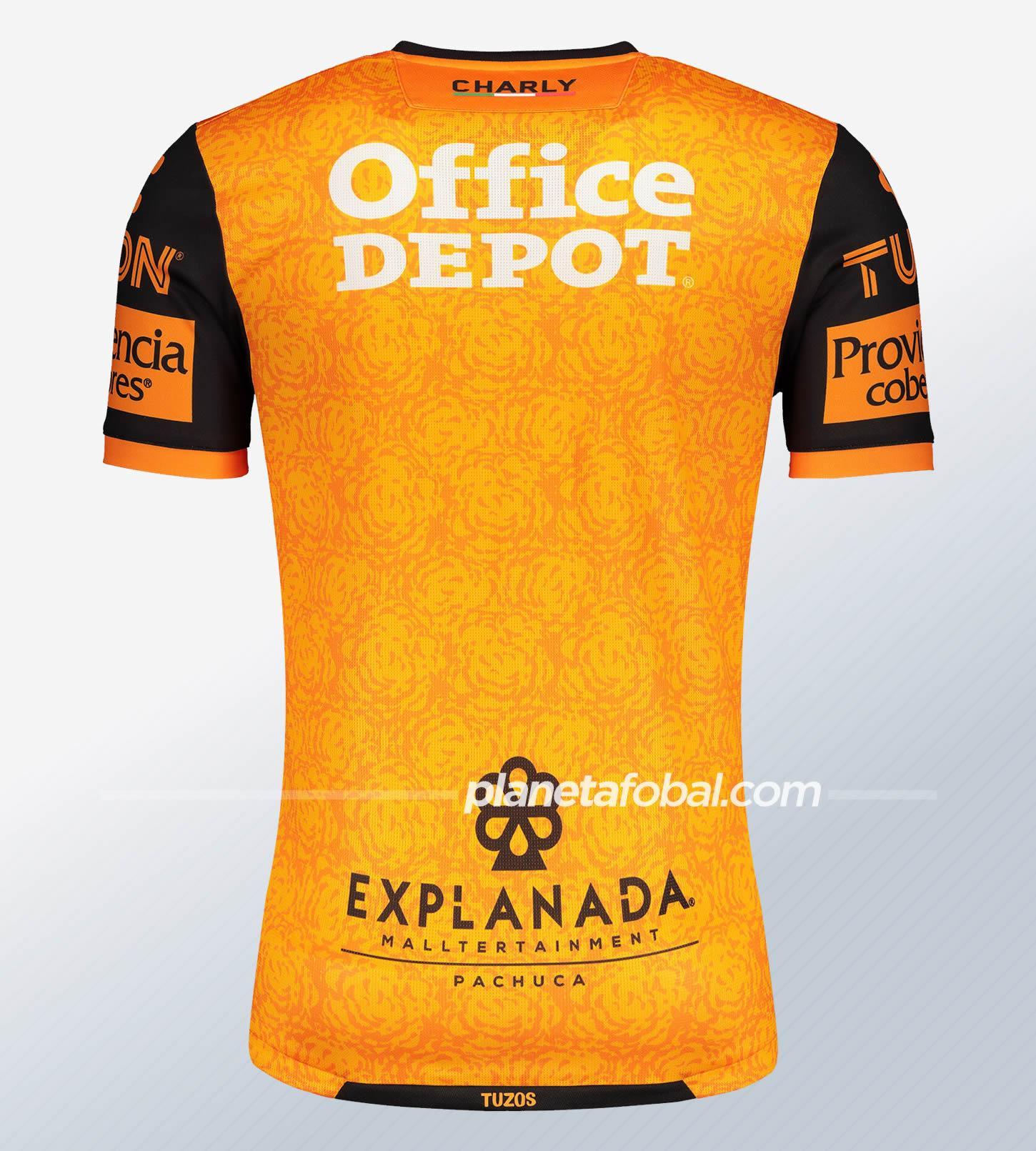 Tercera camiseta de los Tuzos del Pachuca 2020/21 | Imagen Charly
