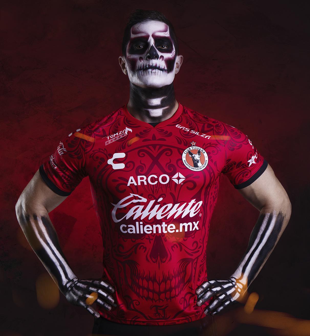 Tercera camiseta de los Xolos de Tijuana 2020/21   Imagen Charly