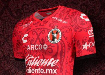 Tercera camiseta de los Xolos de Tijuana 2020/21 | Imagen Charly