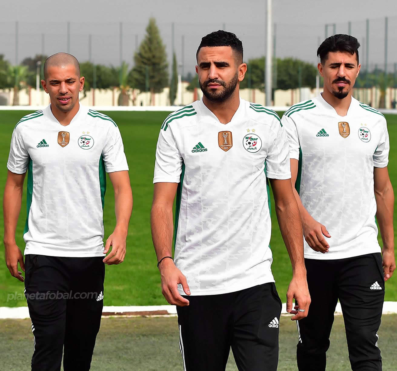 Camiseta adidas de Argelia 2020/21 | Imagen FAF
