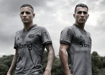 Tercera camiseta le coq sportif del Atlético Mineiro 2020/21 | Imagen Web Oficial
