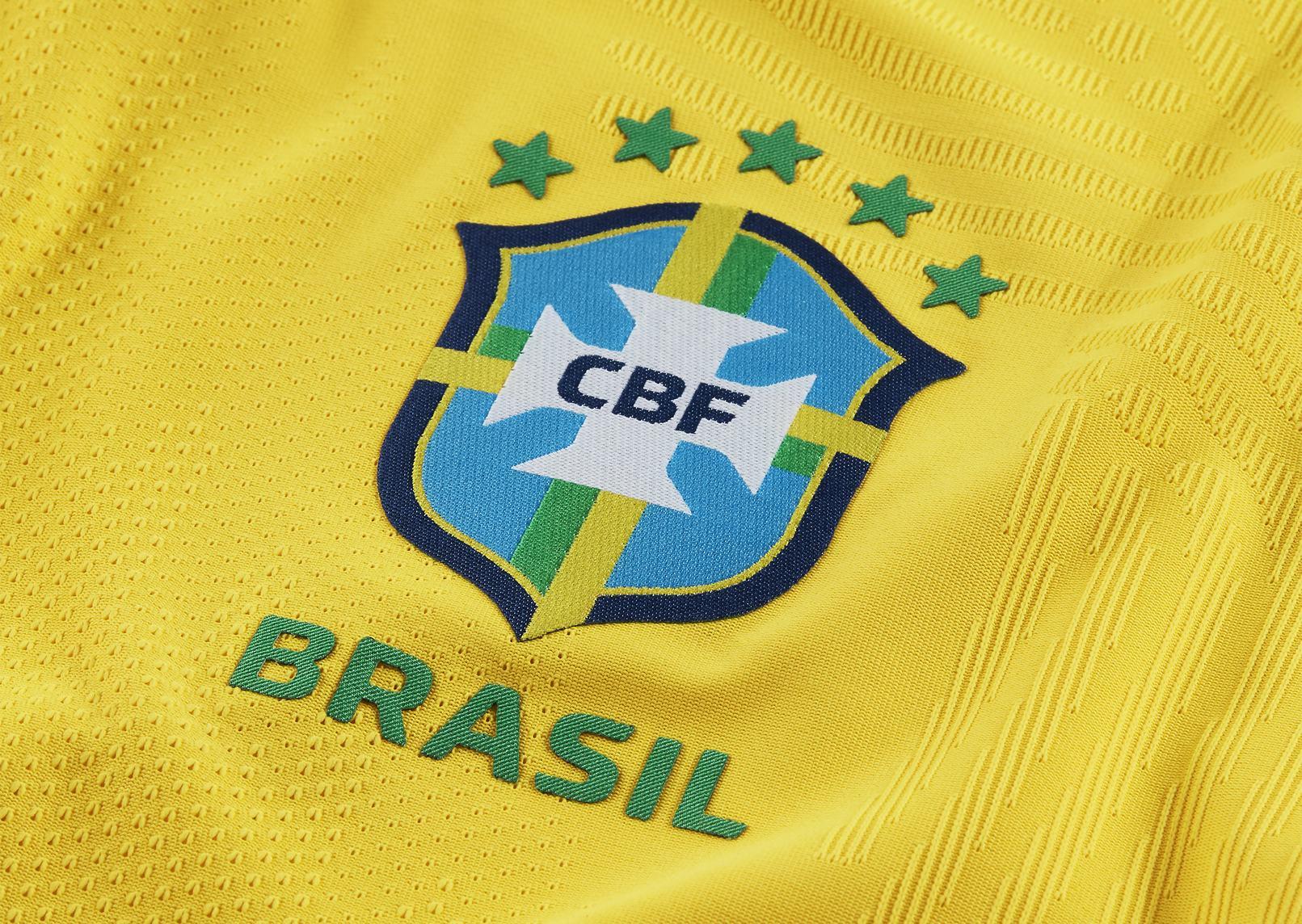 Nuevo escudo de Brasil 2020/2021 | Imagen Nike