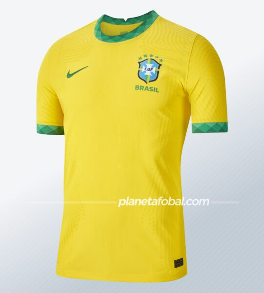 Camiseta titular de Brasil 2020/2021 | Imagen Nike