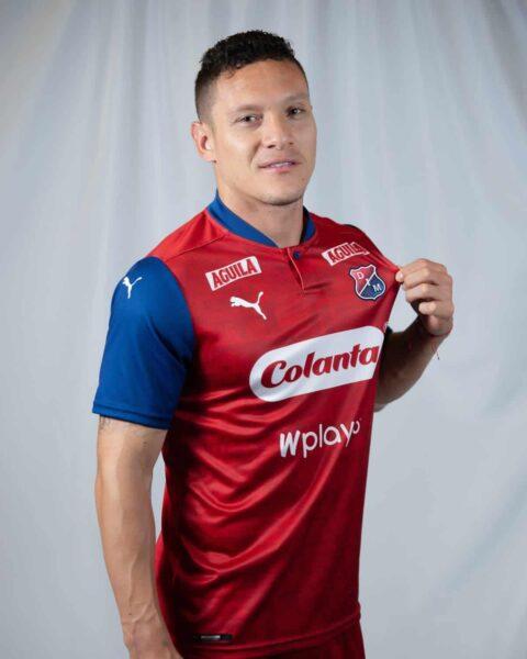 Camiseta local Puma de Independiente Medellín 2020/21 | Imagen Twiter Oficial
